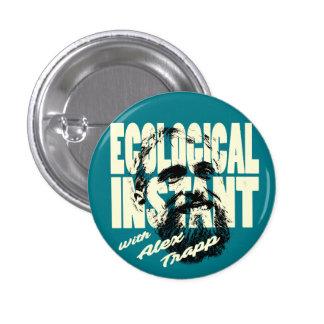 生態学的な即刻ボタン 3.2CM 丸型バッジ