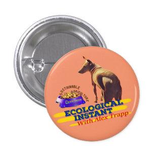 生態学的な即刻犬ボタン 3.2CM 丸型バッジ