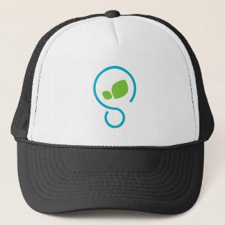 生態学的な緑のライフスタイル キャップ