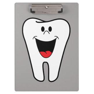生気に満ちた微笑の歯 クリップボード