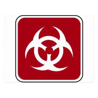 生物交通標識 ポストカード