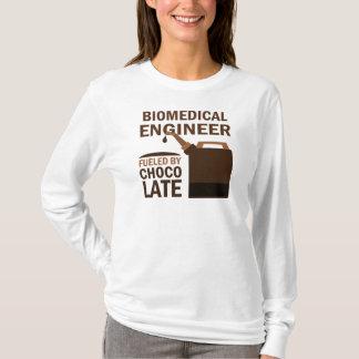 生物医学的なエンジニア(おもしろいな)チョコレート Tシャツ