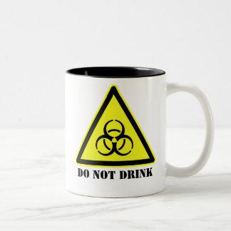 生物危険のコーヒー・マグ ツートーンマグカップ