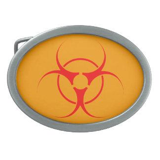 生物危険のベルトの留め金の生物学的災害[有害物質] GMOのバックル無し 卵形バックル