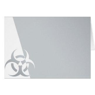 生物危険の生物学的災害[有害物質]の原子核グラフィック カード