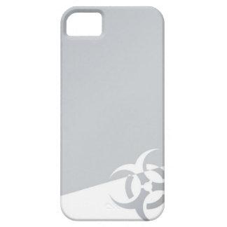 生物危険の生物学的災害[有害物質]の原子核グラフィック iPhone SE/5/5s ケース