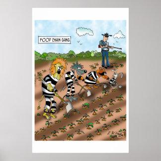 生物学の漫画9377 ポスター