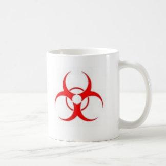 生物学的災害[有害物質]のコーヒー・マグ コーヒーマグカップ