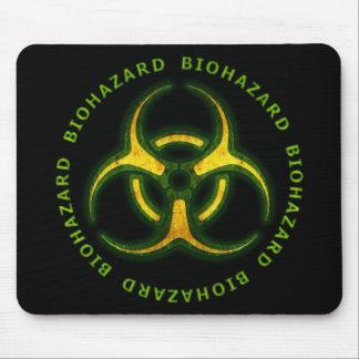 生物学的災害[有害物質]のゾンビの警告 マウスパッド