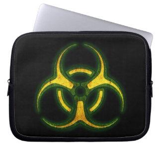 生物学的災害[有害物質]のゾンビの警告 ラップトップスリーブ