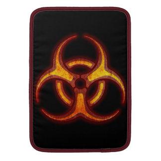 生物学的災害[有害物質]のゾンビの警告 MacBook スリーブ