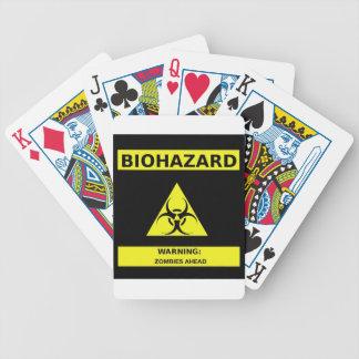 生物学的災害[有害物質]のゾンビ バイスクルトランプ