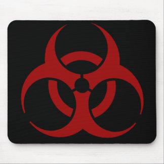 生物学的災害[有害物質]のマウスパッド マウスパッド