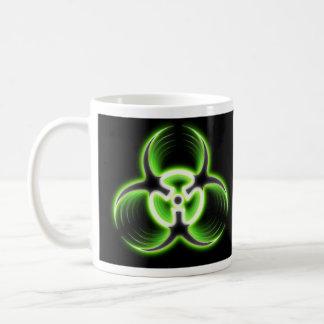 生物学的災害[有害物質]のマグ コーヒーマグカップ