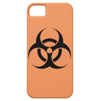 生物学的災害[有害物質]の印の場合 iPhone SE/5/5s ケース