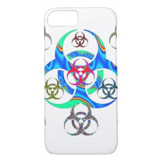 生物学的災害[有害物質]の私電話6箱 iPhone 8/7ケース