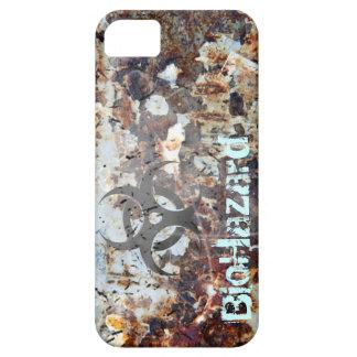 生物学的災害[有害物質]の終末論的な錆つかせたグランジ iPhone SE/5/5s ケース