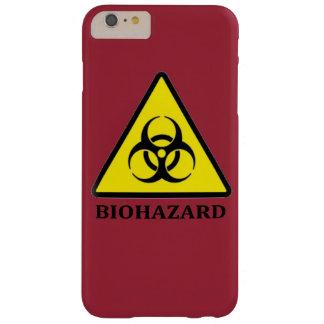 生物学的災害[有害物質]の記号のiPhoneの場合 Barely There iPhone 6 Plus ケース