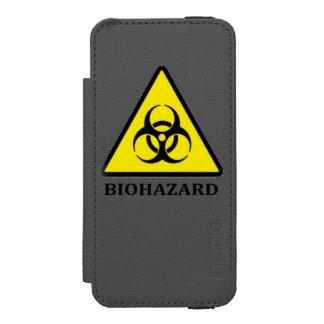 生物学的災害[有害物質]の記号のiPhoneの場合 Incipio Watson™ iPhone 5 ウォレット ケース