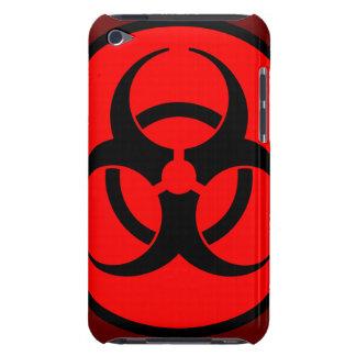 生物学的災害[有害物質]の記号のiPodの赤い箱 Case-Mate iPod Touch ケース