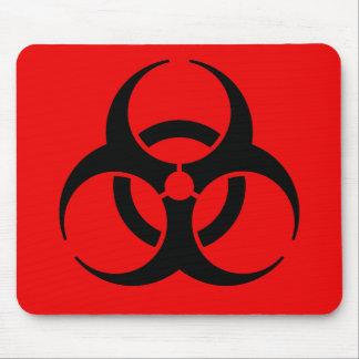 生物学的災害[有害物質]の記号 マウスパッド