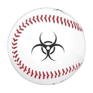 生物学的災害[有害物質]の警告を表す記号 野球ボール