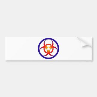 生物学的災害[有害物質] バンパーステッカー