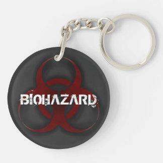 生物学的災害[有害物質] Keychain キーホルダー
