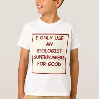 生物学 Tシャツ