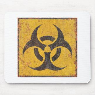 生物的警告標識 マウスパッド