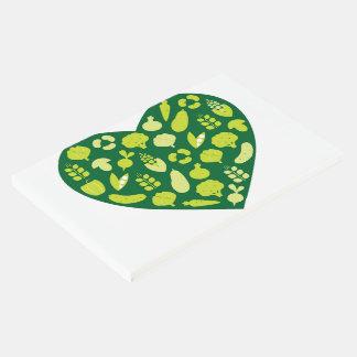 生物緑のハートの来客名簿 ゲストブック