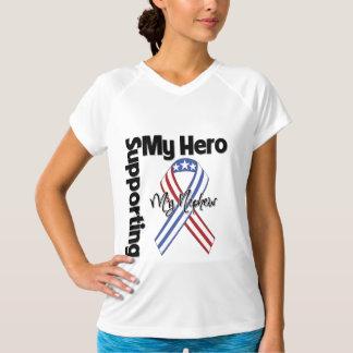 甥-私の英雄を支えている軍隊 Tシャツ
