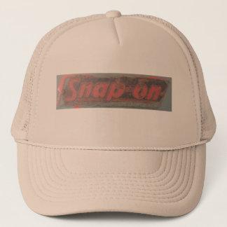 用具の古い学校のトラック運転手の帽子のスナップ キャップ