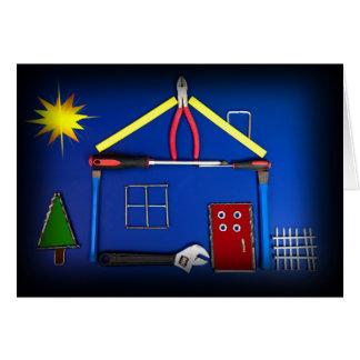 用具の家(起点に造られるお祝い最近) グリーティングカード