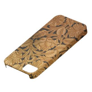 用具を使われた革携帯電話カバーのイメージ iPhone SE/5/5s ケース