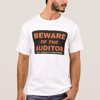 用心して下さい/会計検査官 Tシャツ