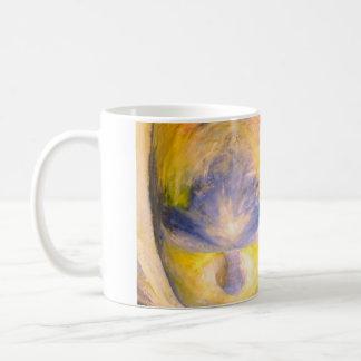 用心深い心のパノラマのマグ コーヒーマグカップ