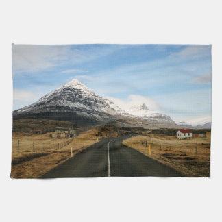 田園アイスランド キッチンタオル