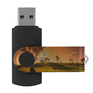 田園アデレードの丘の景色 USBフラッシュドライブ