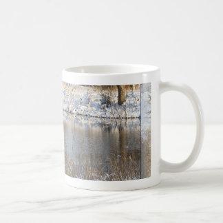 田園雪場面 コーヒーマグカップ