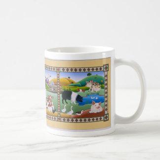 田舎の人たち コーヒーマグカップ