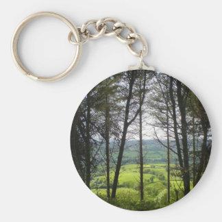 田舎の木 キーホルダー
