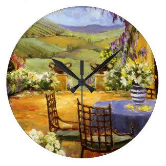 田舎台地 ラージ壁時計