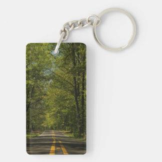 田舎道Keychain キーホルダー