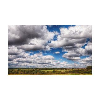 田舎Skyscape キャンバスプリント