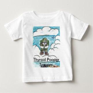 甲状腺剤のPooperの兵士 ベビーTシャツ