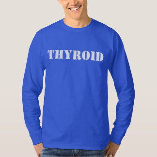 甲状腺剤 Tシャツ