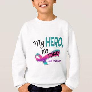甲状腺癌私の英雄私のパパ42 スウェットシャツ