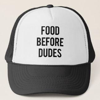 男の前の食糧 キャップ