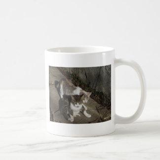男の子および女の子 コーヒーマグカップ